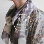 sciarpe di seta dipinte a mano aliceelettrica