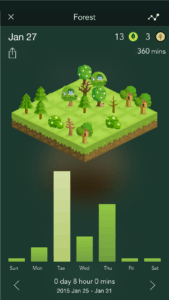 Forest - stay focused app