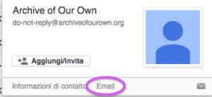 gmail non ti fa ordinare per mittente e questa è l'unica soluzione