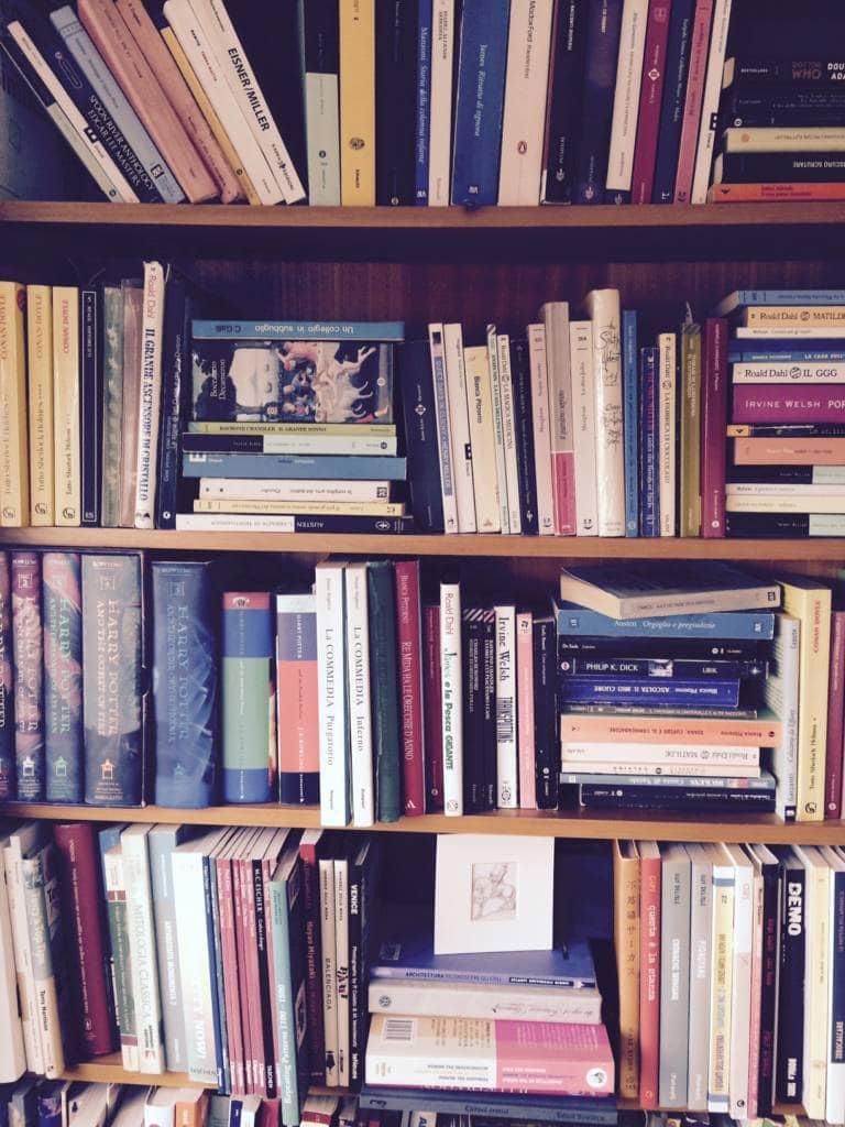 I libri non si buttano.