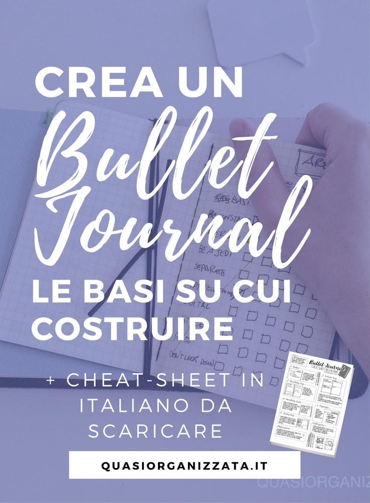 bullet journal italiano | bullet journal idee | bujo tutorial