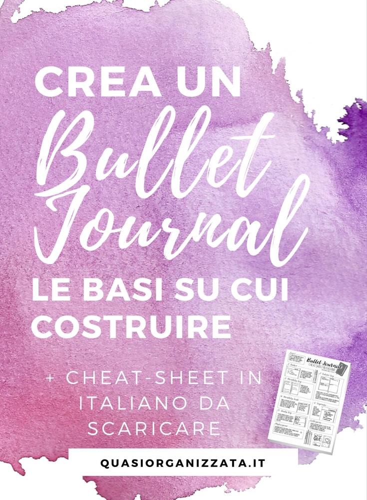 il mio primo bullet journal | bujo idee | bullet journal italiano