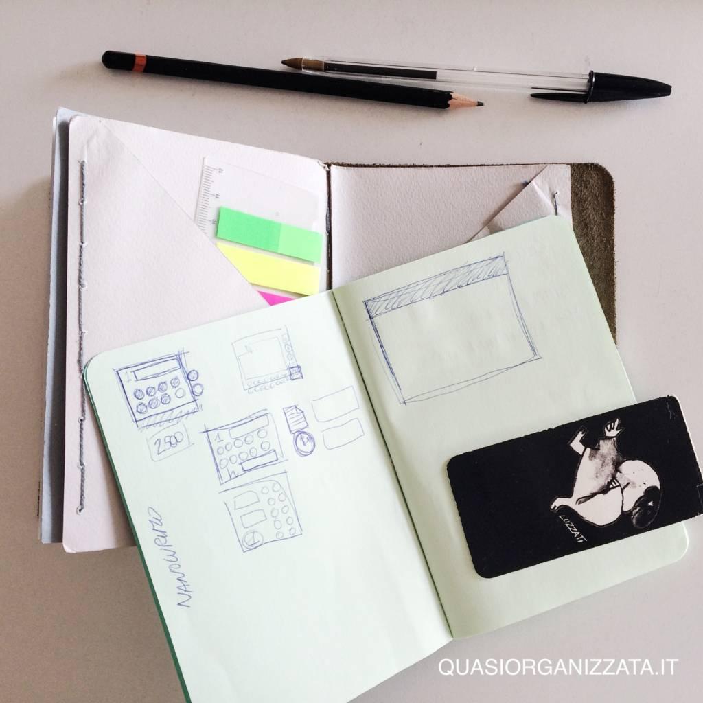 il mio bullet journal - gli appunti