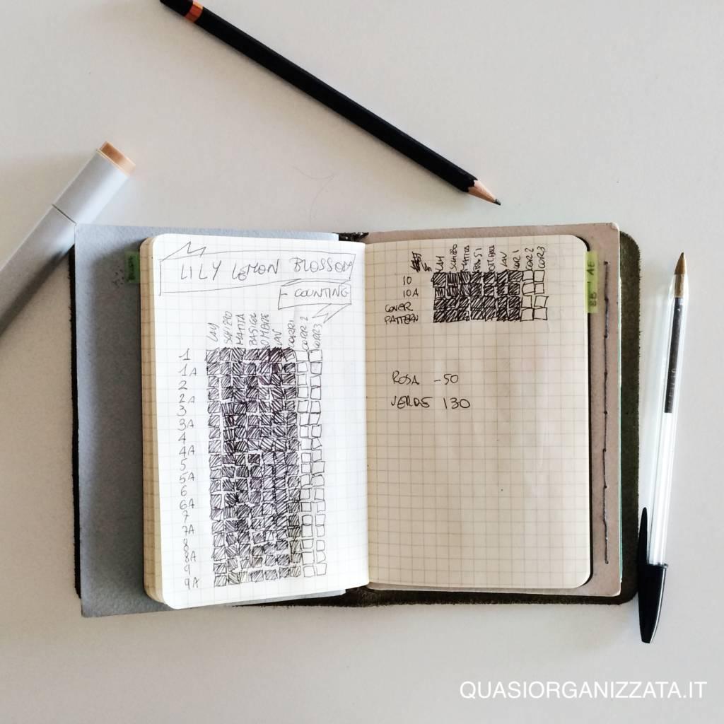 il mio bullet journal - progetti grossi 1