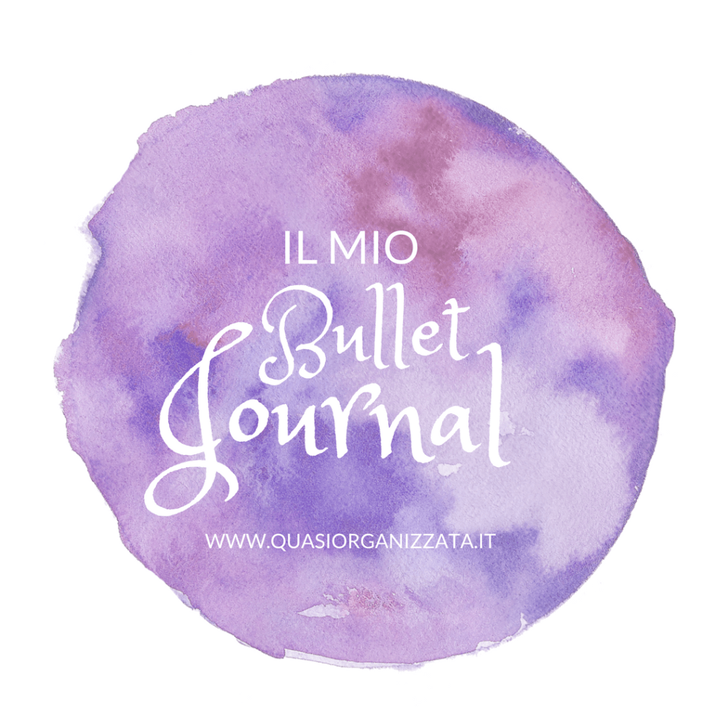 il mio bullet journal