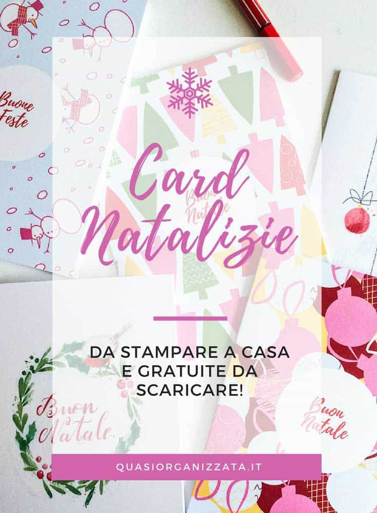 Card natalizie da stampare a casa #natale #faidate #crafts #decorazioni