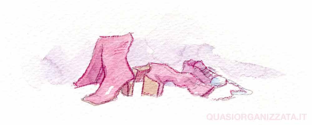 15 cose inutili di cui ti puoi liberare subito - scarpe vetuste