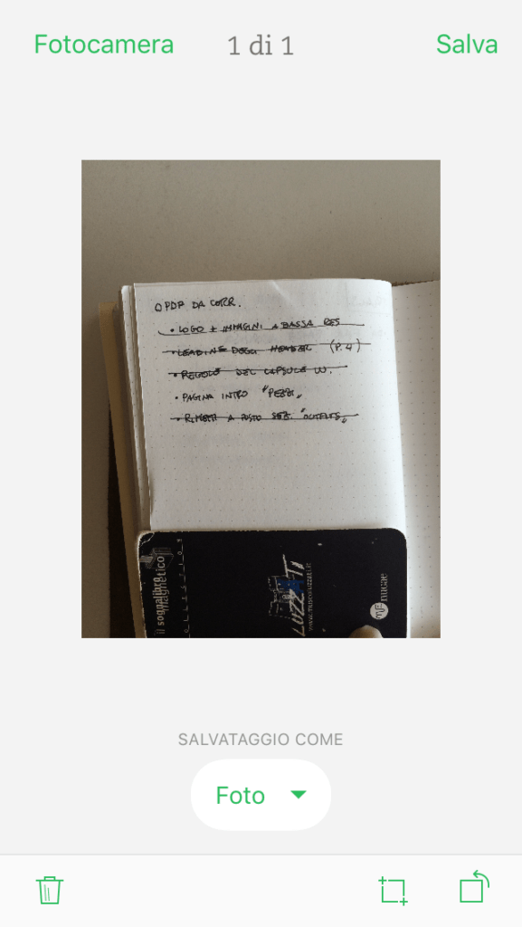 il metodo GTD sul bullet journal - evernote