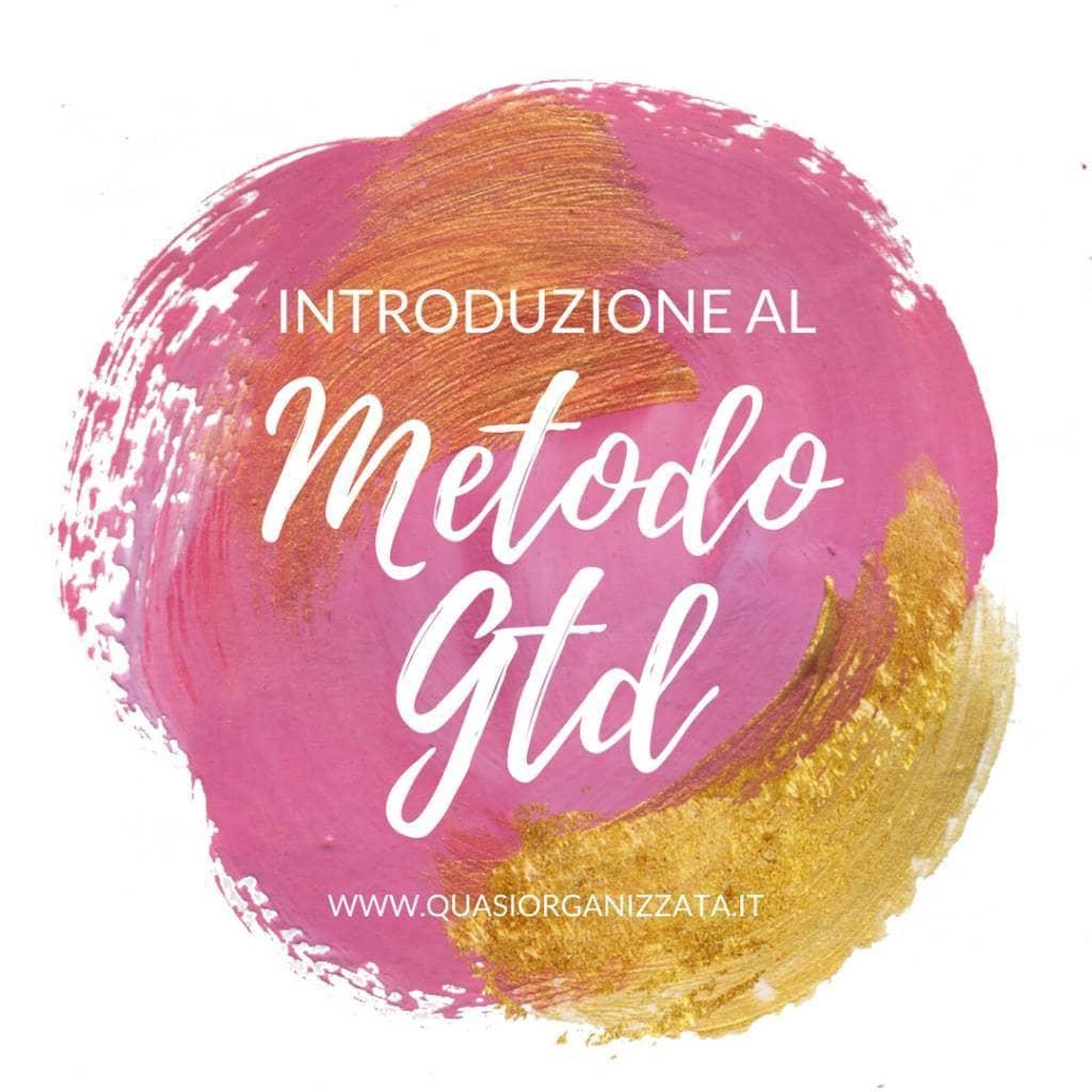 Il metodo GTD, un'introduzione.