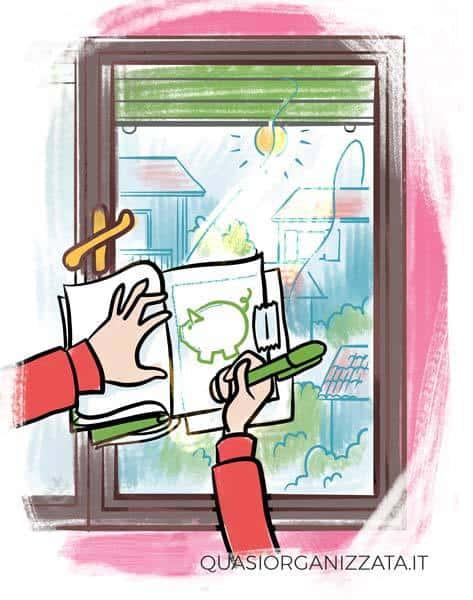 Crea una pagina salvadanaio per il tuo bullet journal #budget #bulletjournalitalia #risparmi