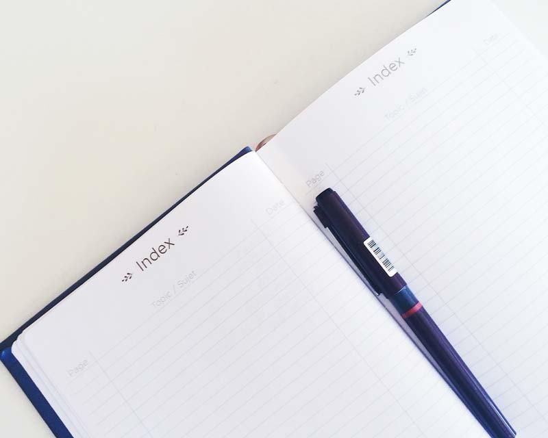 Il mio nuovo bullet journal - Life Journal di QuoVadis #bulletjournalitalia #quasiorganizzata