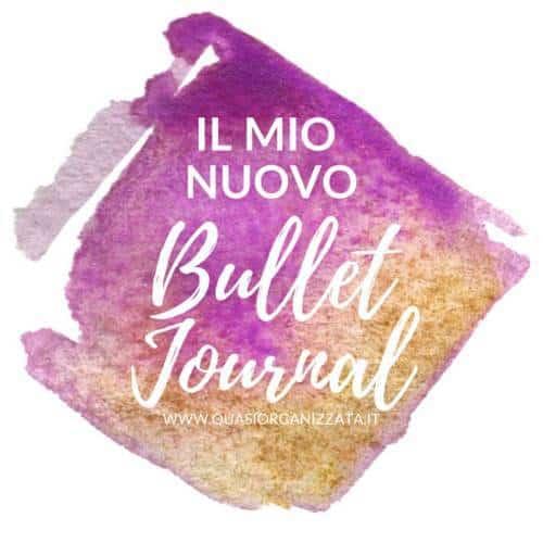 Il mio nuovo bullet journal - metodo GTD #bulletjournalitalia #quasiorganizzata #bujoitalia #bujosetup